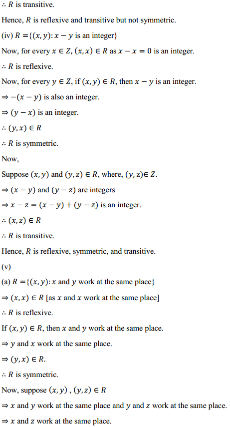 NCERT Solutions for Class 12 Maths Chapter 1 Relations and Functions Ex 1.1 3