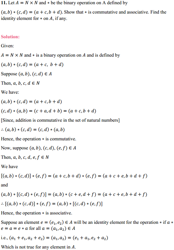 NCERT Solutions for Class 12 Maths Chapter 1 Relations and Functions Ex 1.4 14