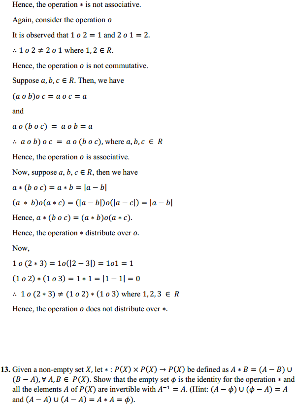 NCERT Solutions for Class 12 Maths Chapter 1 Relations and Functions Miscellaneous Exercise 11