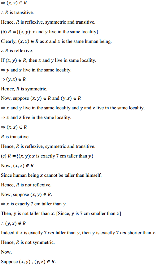 NCERT Solutions for Class 12 Maths Chapter 1 Relations and Functions Ex 1.1 4
