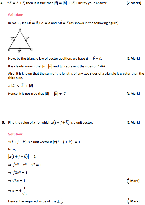 NCERT Solutions for Class 12 Maths Chapter 10 Vector Algebra Miscellaneous Exercise 3