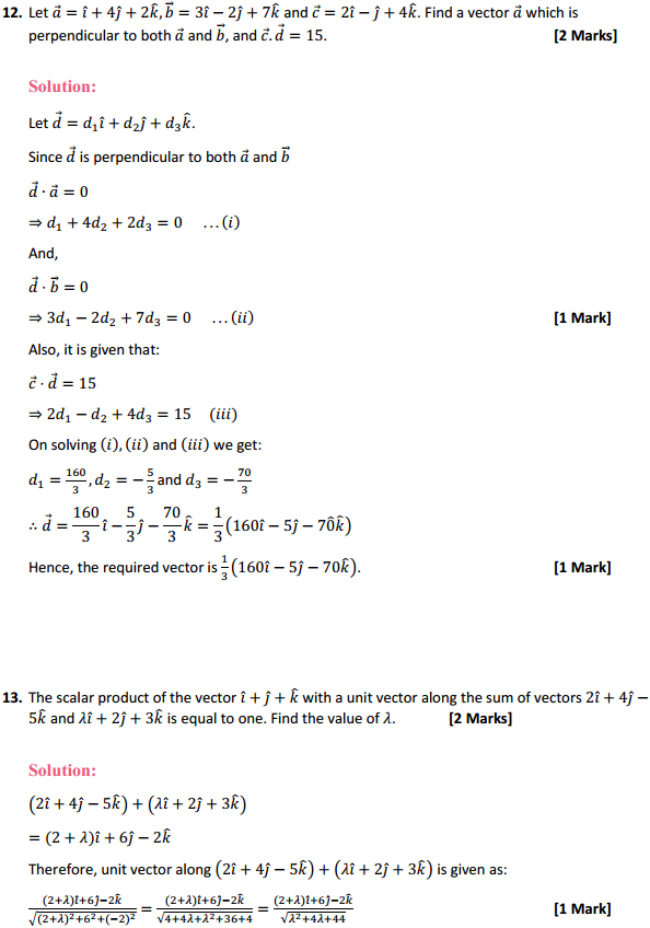 NCERT Solutions for Class 12 Maths Chapter 10 Vector Algebra Miscellaneous Exercise 8