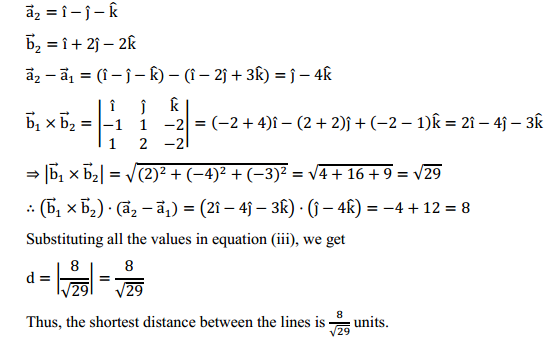 NCERT Solutions for Class 12 Maths Chapter 11 Three Dimensional Geometry Ex 11.2 16