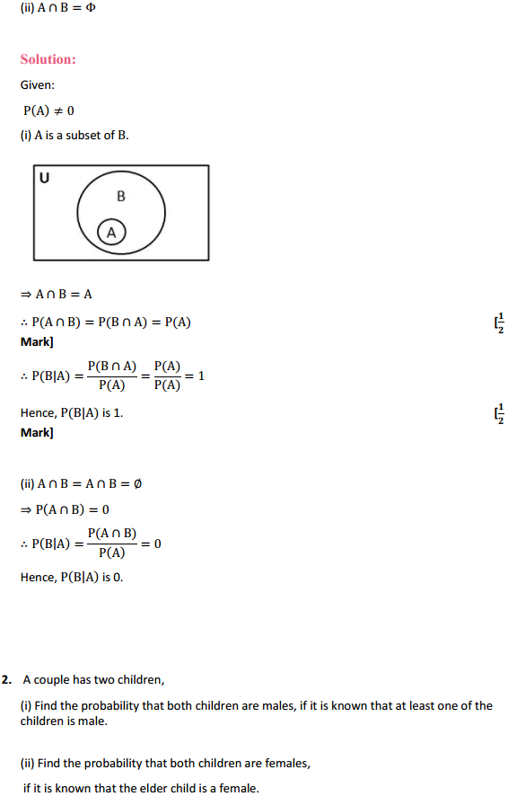 NCERT Solutions for Class 12 Maths Chapter 13 Probability Miscellaneous Exercise 2