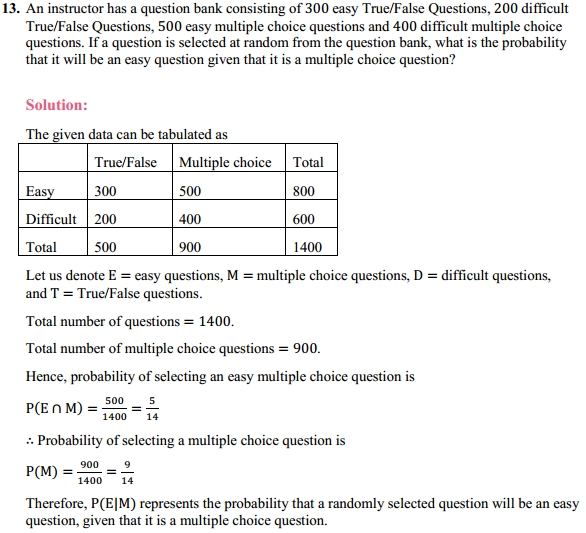 NCERT Solutions for Class 12 Maths Chapter 13 Probability Ex 13.1 17