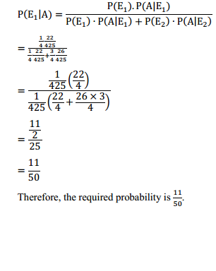 NCERT Solutions for Class 12 Maths Chapter 13 Probability Ex 13.3 16