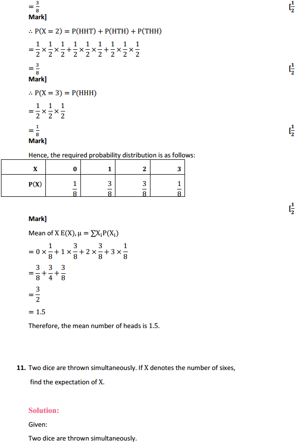 NCERT Solutions for Class 12 Maths Chapter 13 Probability Ex 13.4 19