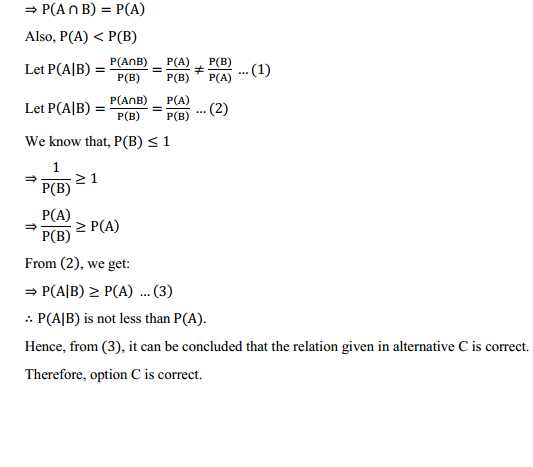NCERT Solutions for Class 12 Maths Chapter 13 Probability Ex 13.3 20