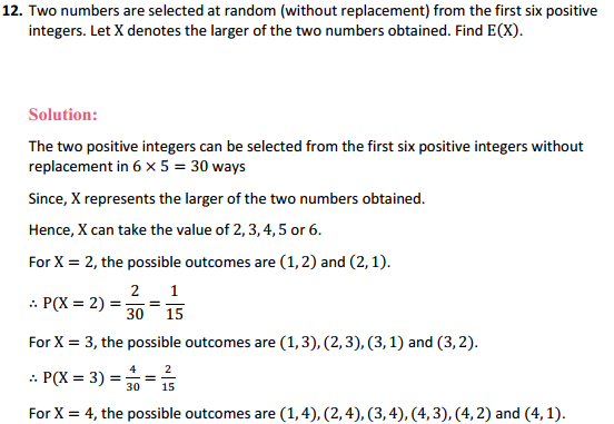 NCERT Solutions for Class 12 Maths Chapter 13 Probability Ex 13.4 21