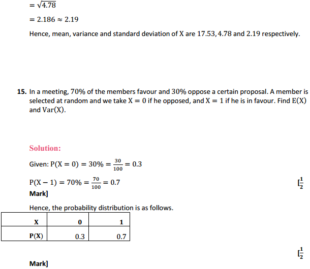 NCERT Solutions for Class 12 Maths Chapter 13 Probability Ex 13.4 28