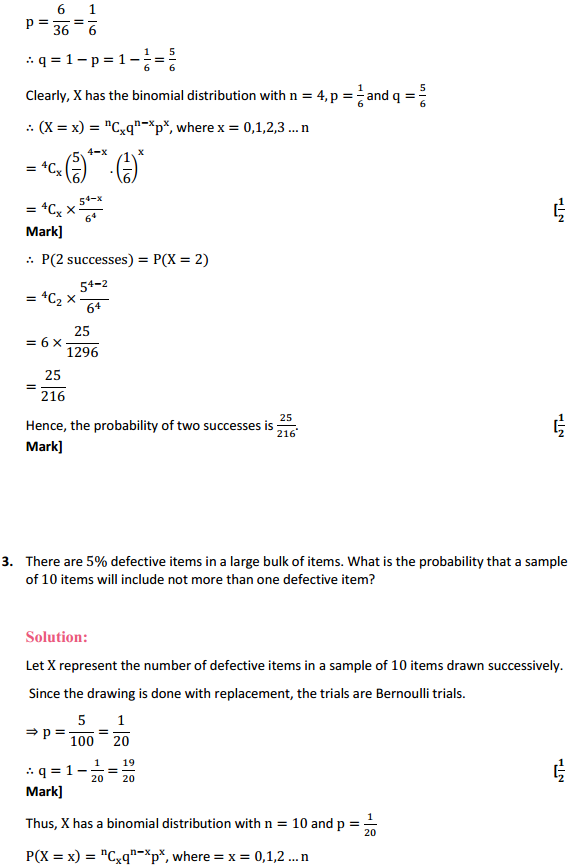 NCERT Solutions for Class 12 Maths Chapter 13 Probability Ex 13.5 3