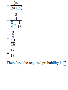 NCERT Solutions for Class 12 Maths Chapter 13 Probability Ex 13.3 6