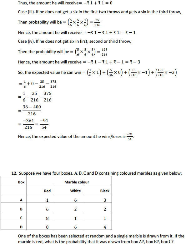 NCERT Solutions for Class 12 Maths Chapter 13 Probability Miscellaneous Exercise 15