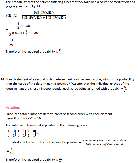 NCERT Solutions for Class 12 Maths Chapter 13 Probability Miscellaneous Exercise 19