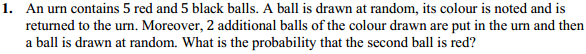 NCERT Solutions for Class 12 Maths Chapter 13 Probability Ex 13.3 1