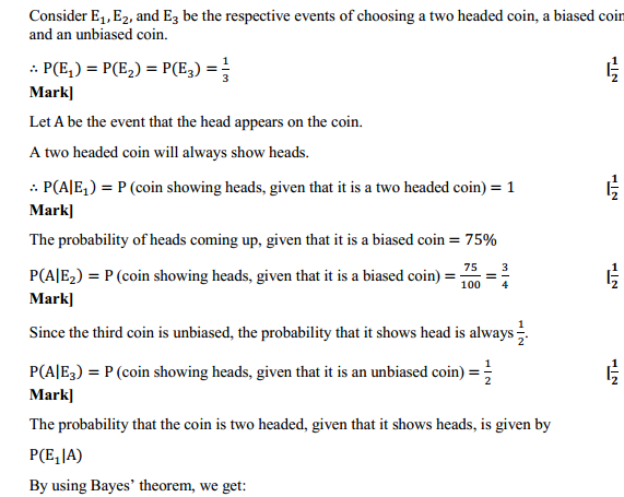NCERT Solutions for Class 12 Maths Chapter 13 Probability Ex 13.3 9