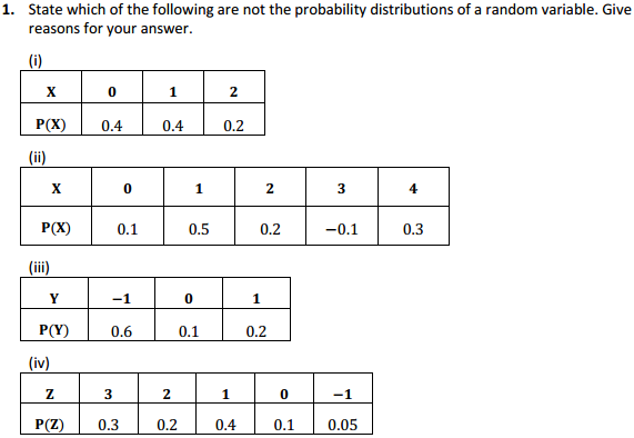 NCERT Solutions for Class 12 Maths Chapter 13 Probability Ex 13.4 1