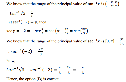 NCERT Solutions for Class 12 Maths Chapter 2 Inverse Trigonometric Functions Ex 2.1 7