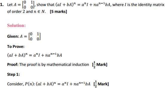 NCERT Solutions for Class 12 Maths Chapter 3 Matrices Miscellaneous Exercise 1