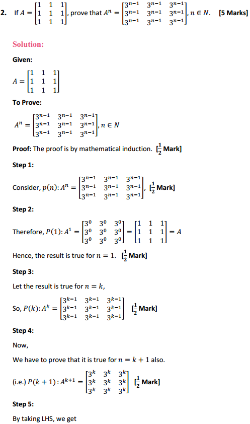 NCERT Solutions for Class 12 Maths Chapter 3 Matrices Miscellaneous Exercise 3