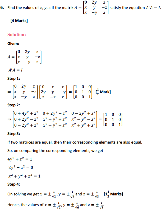 NCERT Solutions for Class 12 Maths Chapter 3 Matrices Miscellaneous Exercise 8