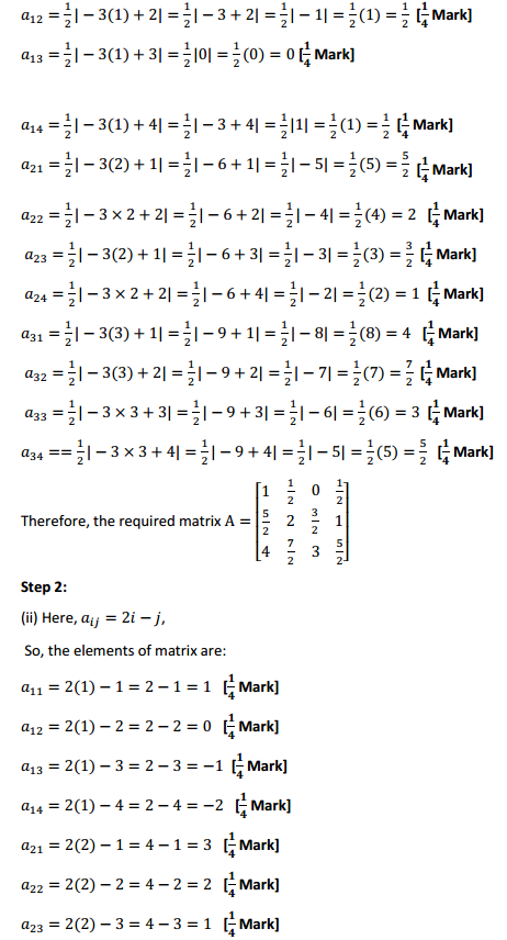 NCERT Solutions for Class 12 Maths Chapter 3 Matrices Ex 3.1 5