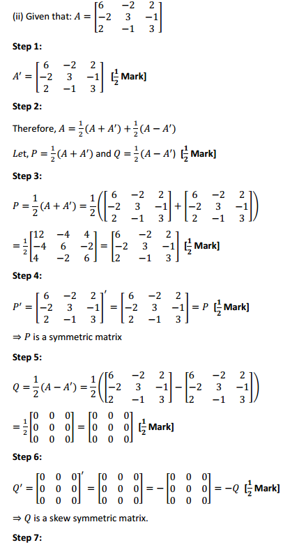 NCERT Solutions for Class 12 Maths Chapter 3 Matrices Ex 3.3 15