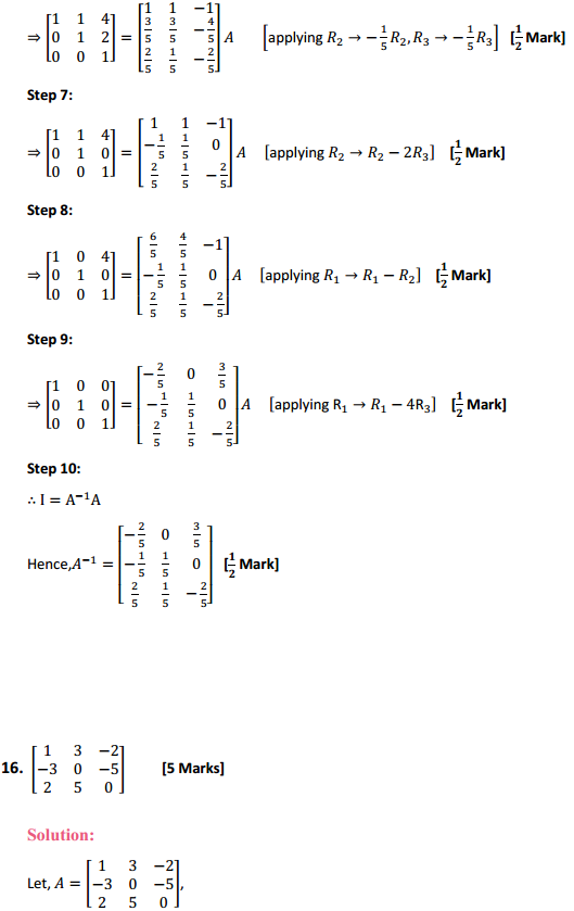 NCERT Solutions for Class 12 Maths Chapter 3 Matrices Ex 3.4 13