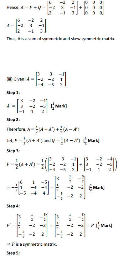 NCERT Solutions for Class 12 Maths Chapter 3 Matrices Ex 3.3 16