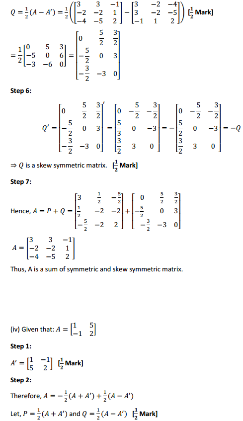 NCERT Solutions for Class 12 Maths Chapter 3 Matrices Ex 3.3 17
