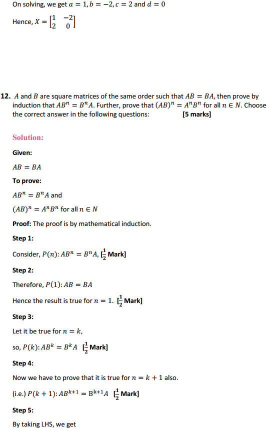NCERT Solutions for Class 12 Maths Chapter 3 Matrices Miscellaneous Exercise 14