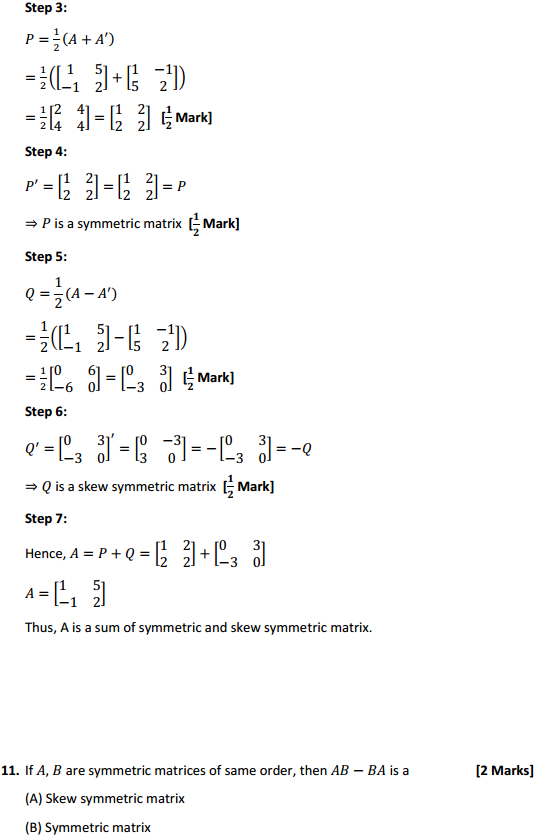 NCERT Solutions for Class 12 Maths Chapter 3 Matrices Ex 3.3 18