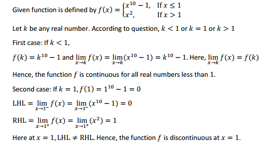 NCERT Solutions for Class 12 Maths Chapter 5 Continuity and Differentiability Ex 5.1 12