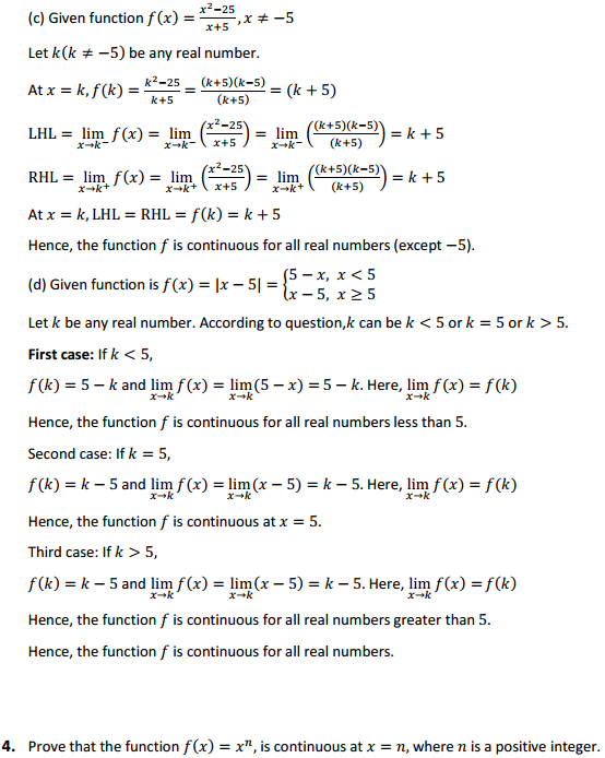 NCERT Solutions for Class 12 Maths Chapter 5 Continuity and Differentiability Ex 5.1 3