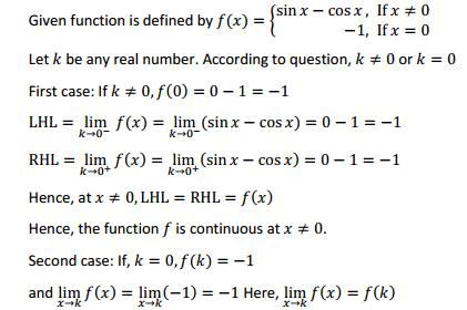 NCERT Solutions for Class 12 Maths Chapter 5 Continuity and Differentiability Ex 5.1 29