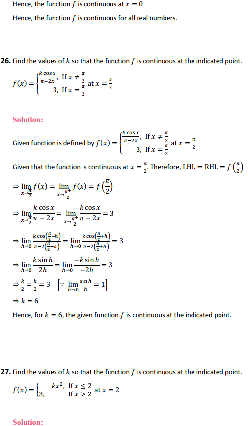 NCERT Solutions for Class 12 Maths Chapter 5 Continuity and Differentiability Ex 5.1 30