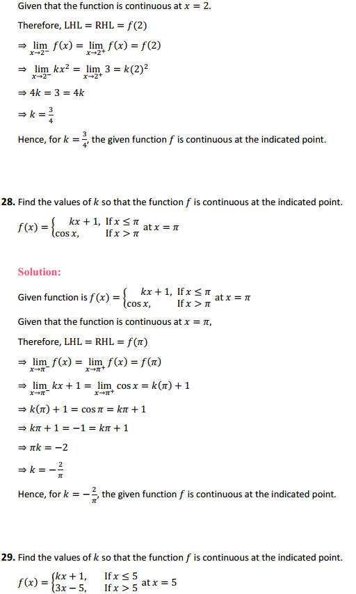 NCERT Solutions for Class 12 Maths Chapter 5 Continuity and Differentiability Ex 5.1 32