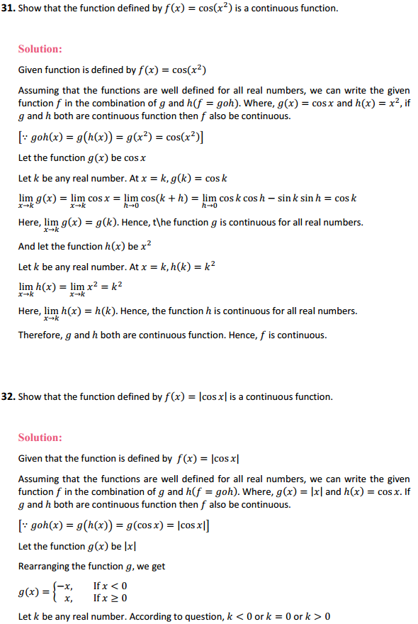 NCERT Solutions for Class 12 Maths Chapter 5 Continuity and Differentiability Ex 5.1 35