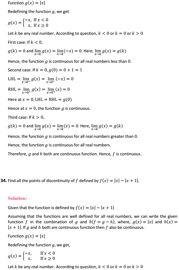 NCERT Solutions for Class 12 Maths Chapter 5 Continuity and Differentiability Ex 5.1 38