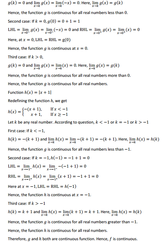 NCERT Solutions for Class 12 Maths Chapter 5 Continuity and Differentiability Ex 5.1 40
