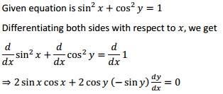 NCERT Solutions for Class 12 Maths Chapter 5 Continuity and Differentiability Ex 5.3 4