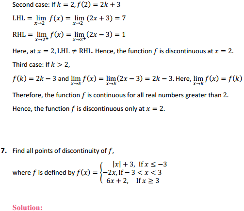 NCERT Solutions for Class 12 Maths Chapter 5 Continuity and Differentiability Ex 5.1 7
