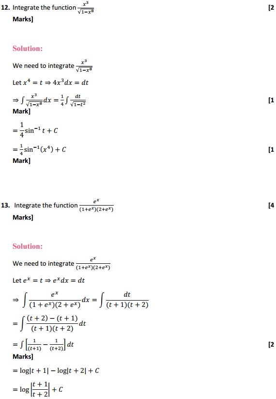 NCERT Solutions for Class 12 Maths Chapter 7 Integrals Miscellaneous Exercise 9
