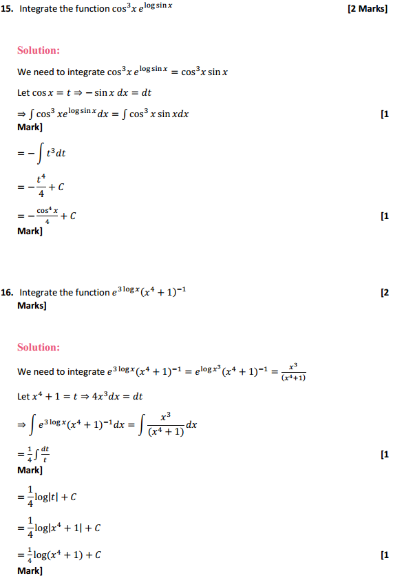 NCERT Solutions for Class 12 Maths Chapter 7 Integrals Miscellaneous Exercise 11