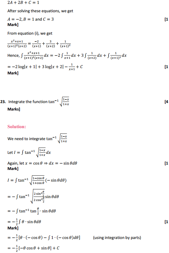 NCERT Solutions for Class 12 Maths Chapter 7 Integrals Miscellaneous Exercise 17