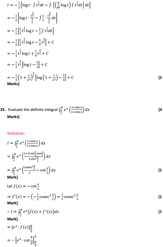 NCERT Solutions for Class 12 Maths Chapter 7 Integrals Miscellaneous Exercise 19