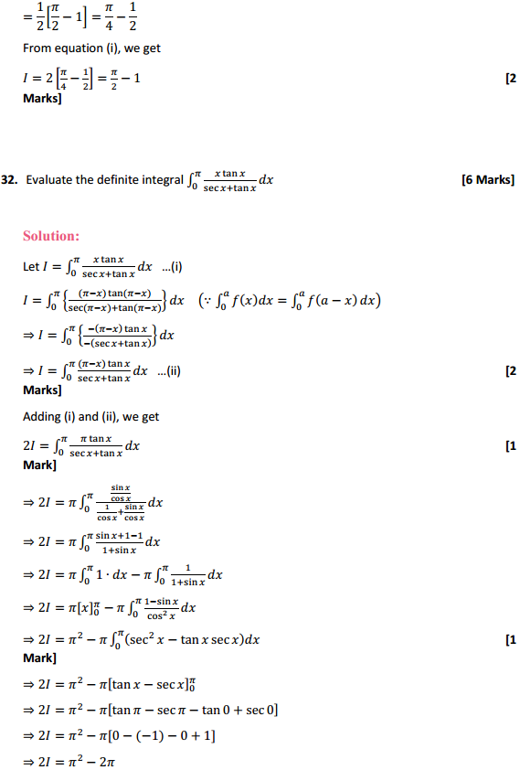 NCERT Solutions for Class 12 Maths Chapter 7 Integrals Miscellaneous Exercise 25