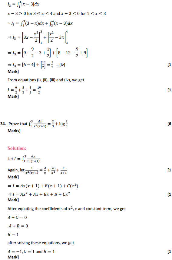NCERT Solutions for Class 12 Maths Chapter 7 Integrals Miscellaneous Exercise 27