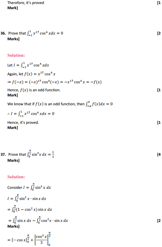 NCERT Solutions for Class 12 Maths Chapter 7 Integrals Miscellaneous Exercise 29