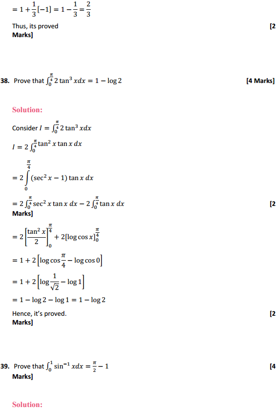 NCERT Solutions for Class 12 Maths Chapter 7 Integrals Miscellaneous Exercise 30
